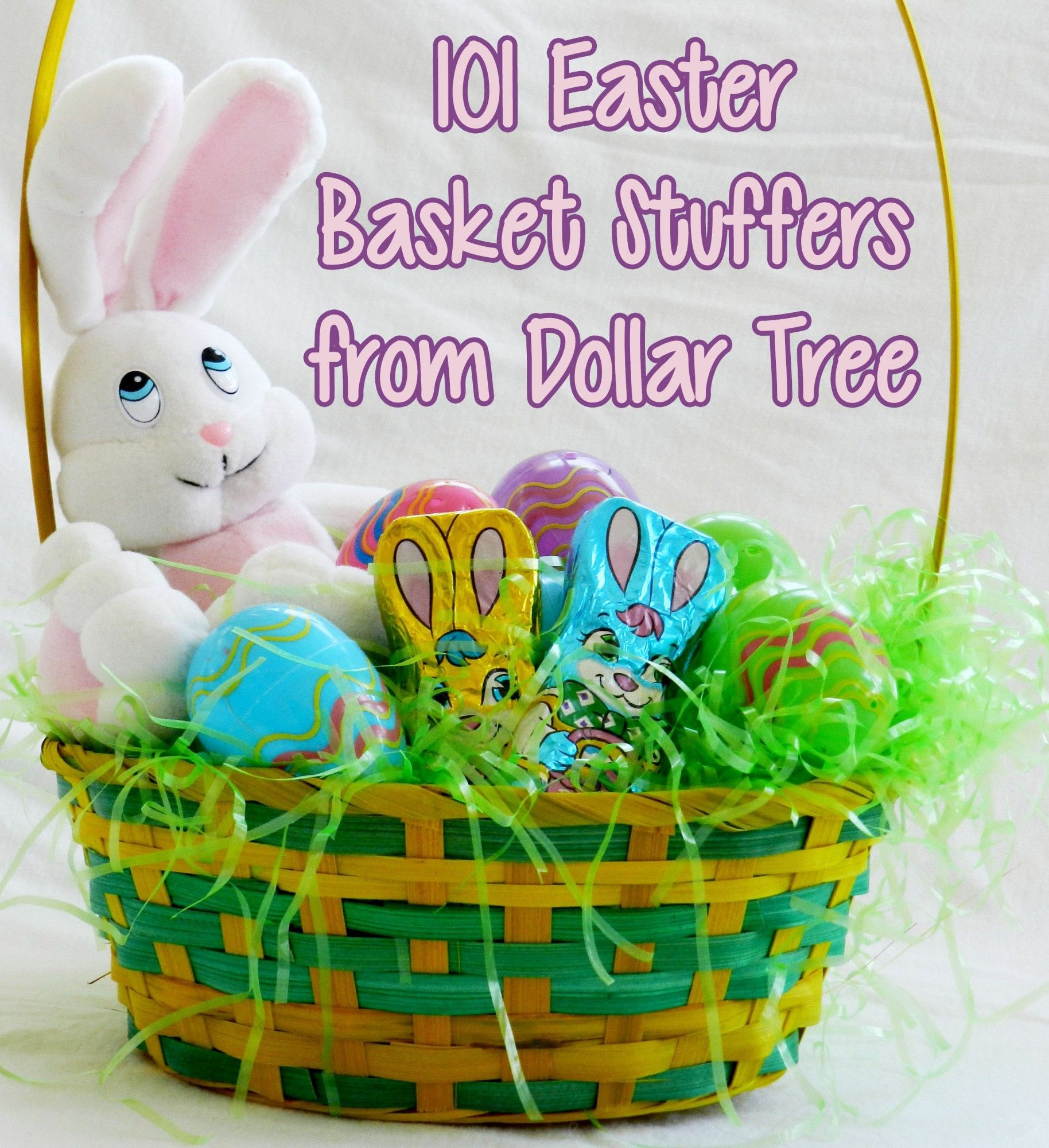 101 easter basket stuffer ideas from dollar tree fill your 101 easter basket stuffer ideas from dollar tree fill your toddlers easter basket with cute negle Images