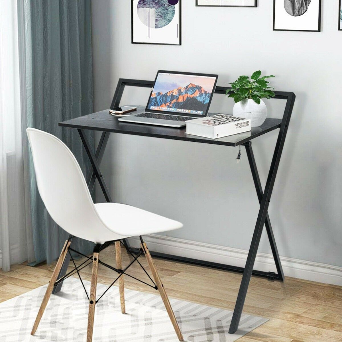 Folding Simple Pc Laptop Writing Table Computer Desk 85 95 Free