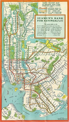 Nyc Subway Map 1939 Nyc Subway Map Transit Map New York City Map
