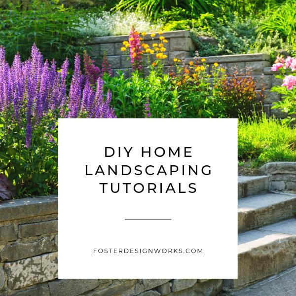 14 garden design Landscape tutorials ideas