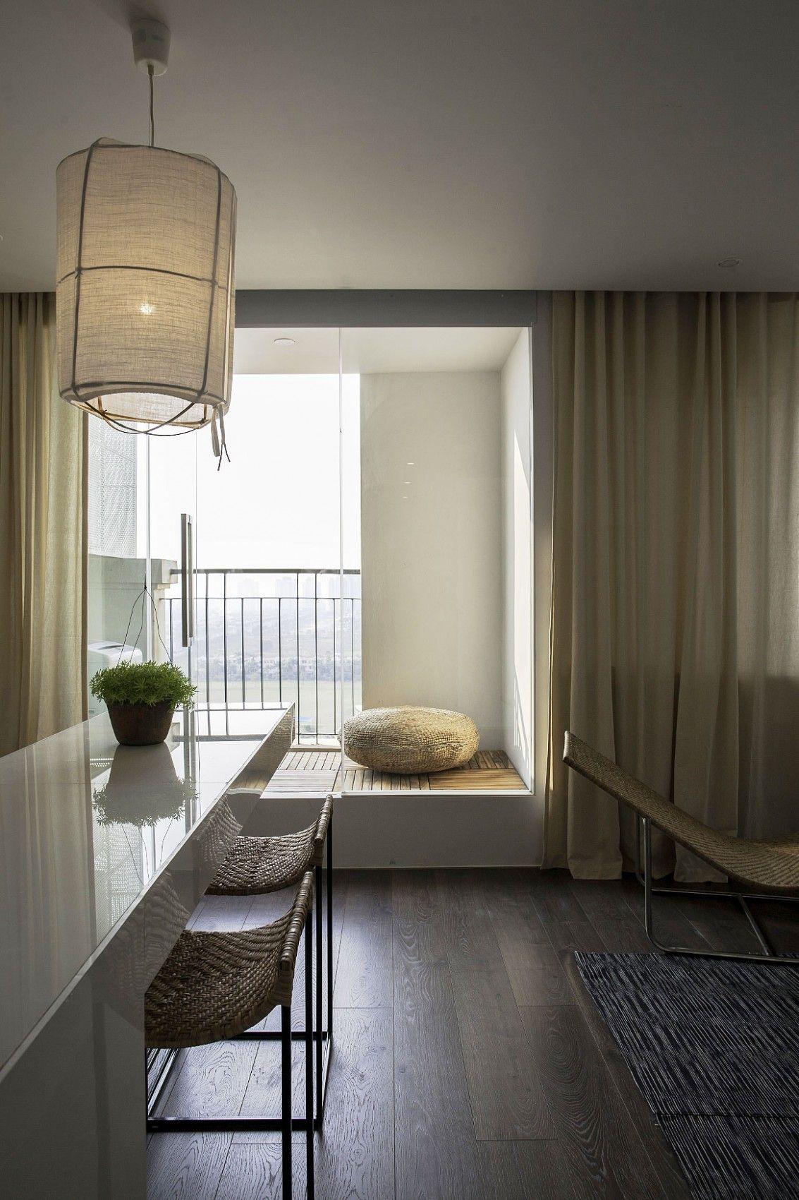 Hochglanz weiss modernen apartment