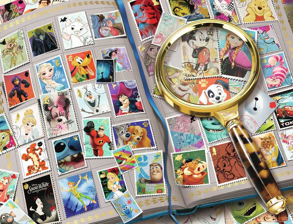 My Favorite Stamps 2000 Pieces Ravensburger Puzzle Warehouse Disney Puzzles Jigsaw Puzzles Jigsaw