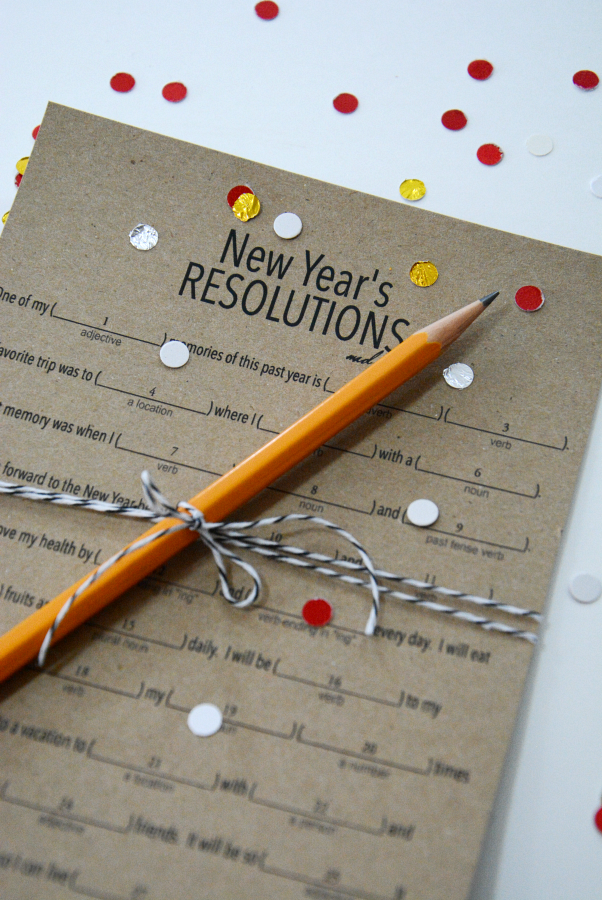 New Year S Eve Resolutions Game Fiestas