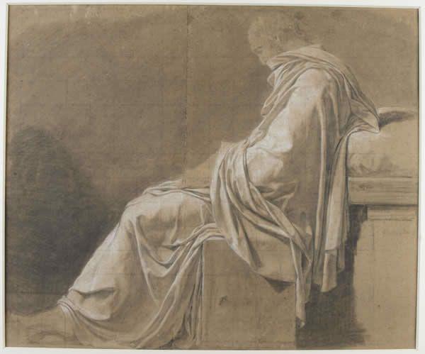 Estudo para Morte de Sócrates