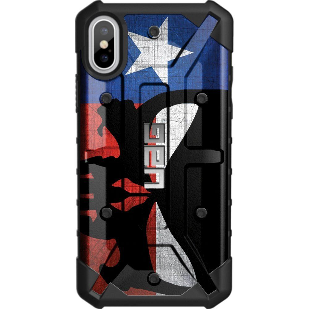 Limited Edition Authentic Uag Urban Armor Gear Case For Apple Iphone Xs Plus Spigen Simple Softcase Liquid Crystal Casing X 58 Screen Custom By Ego Tactical Weathered Texas State Flag
