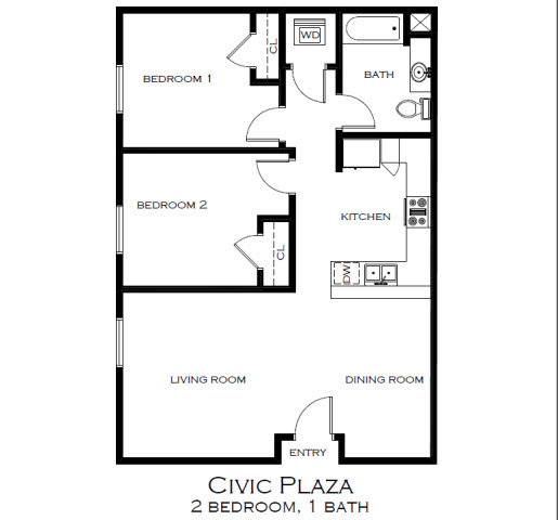 1 & 2 Bedroom Apartment Homes For Rent