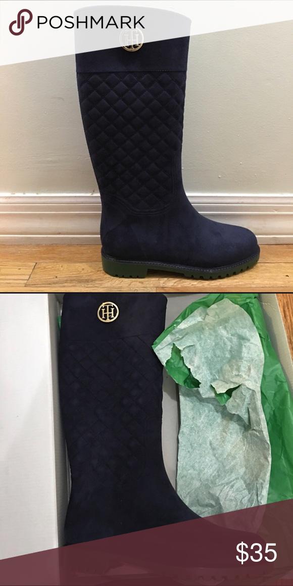 a83e3df7cc097 Tommy Hilfiger Boots Not worn Tommy Hilfiger Shoes Winter   Rain Boots