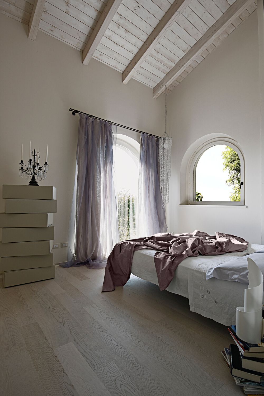 Idée aménagement  une chambre moderne sous les toits   Chambre ...