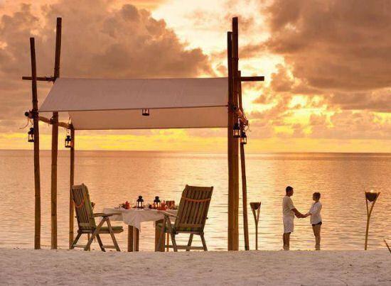cena romantica Inspiração, Praia