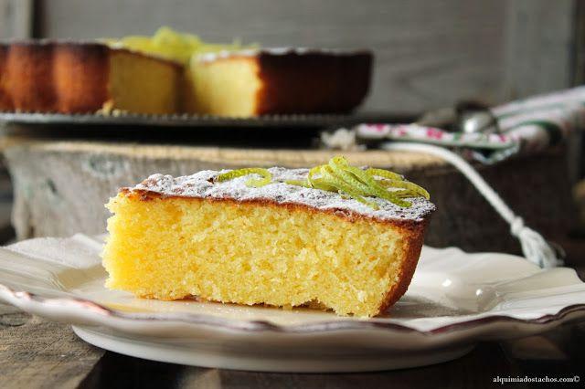 Alquimia dos Tachos: Bolo de Azeite e Limão / Lemon Olive Oil Cake