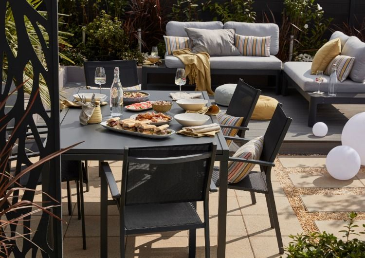 Contemporary And Sleek The Sumatra Table Extends For When There S