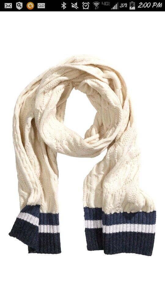 **H & M scarf. I neeeeed. **