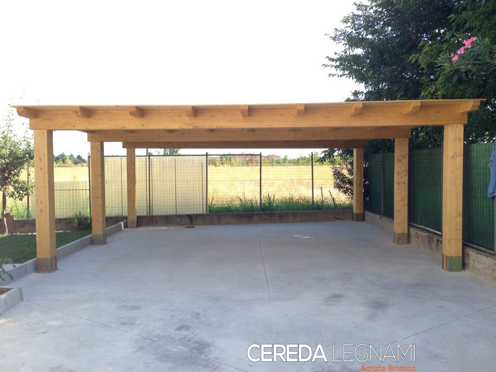 Pergola Oak Carport Google Search Tettoia Case Di Design Case