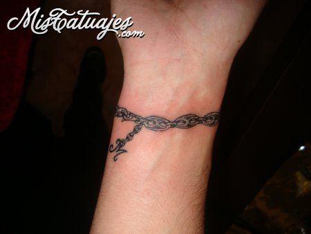 Tatuaje Pulsera sombreada Tatuajes Fotos Tattoos Tatuajes
