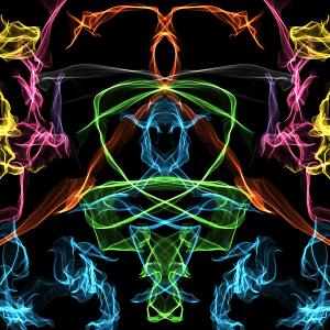 Website called Weavesilk.com, It's interactive generative art. My second creation here.. <3