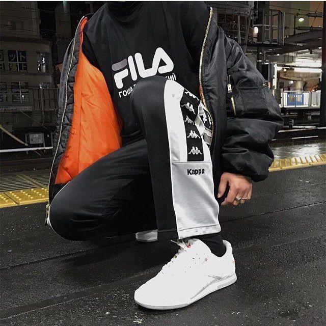 sprzedaż online styl mody Nowa kolekcja Fila x Kappa. @____yd1 #PAUSEShots   วอร์ม in 2019   Fashion ...