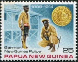 German New Guinea police, 1899-1914