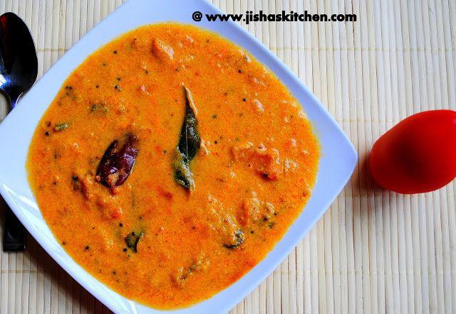 Jisha S Kitchen Tomato Curry Thakkali Curry Indian Recipes
