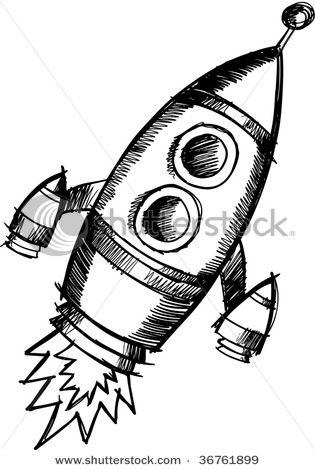 Spaceship Vector Drawing Ideas Pinterest Spaceship Drawing