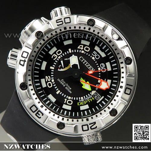 0957799a75db37 Citizen Promaster Eco-Drive Aqualand 200m Divers Watch BN2021-03E ...
