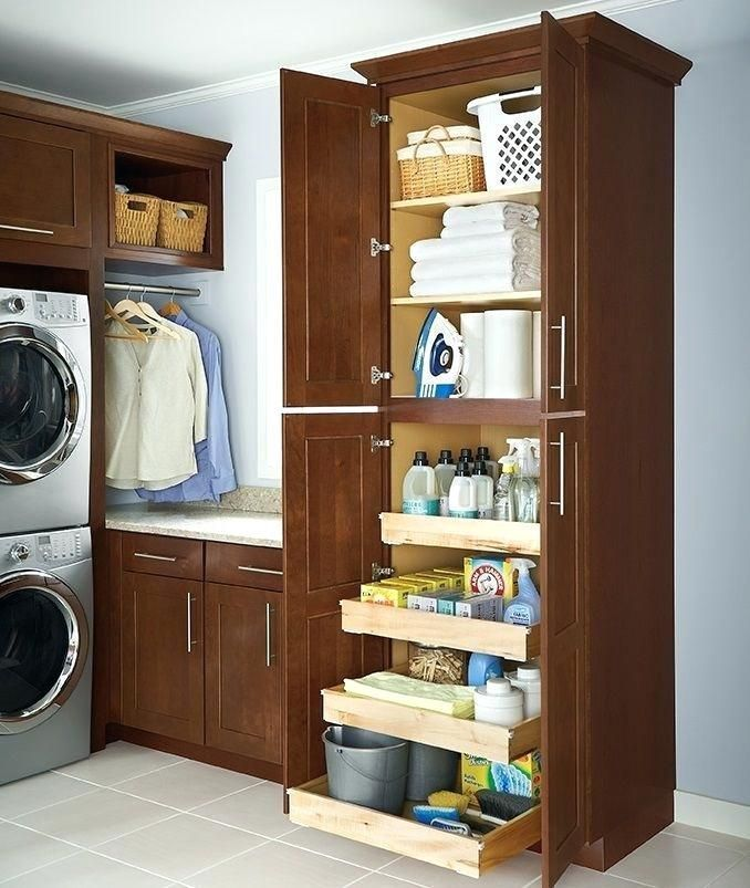 Laundry Room Storage Cabinet Gorgeous Laundry Storage Cabinet Best Laundry Room Storage Ideas On Diy Laundry Room Storage Laundry Room Diy Laundry Room Layouts