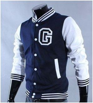 mens letter g letterman jacket