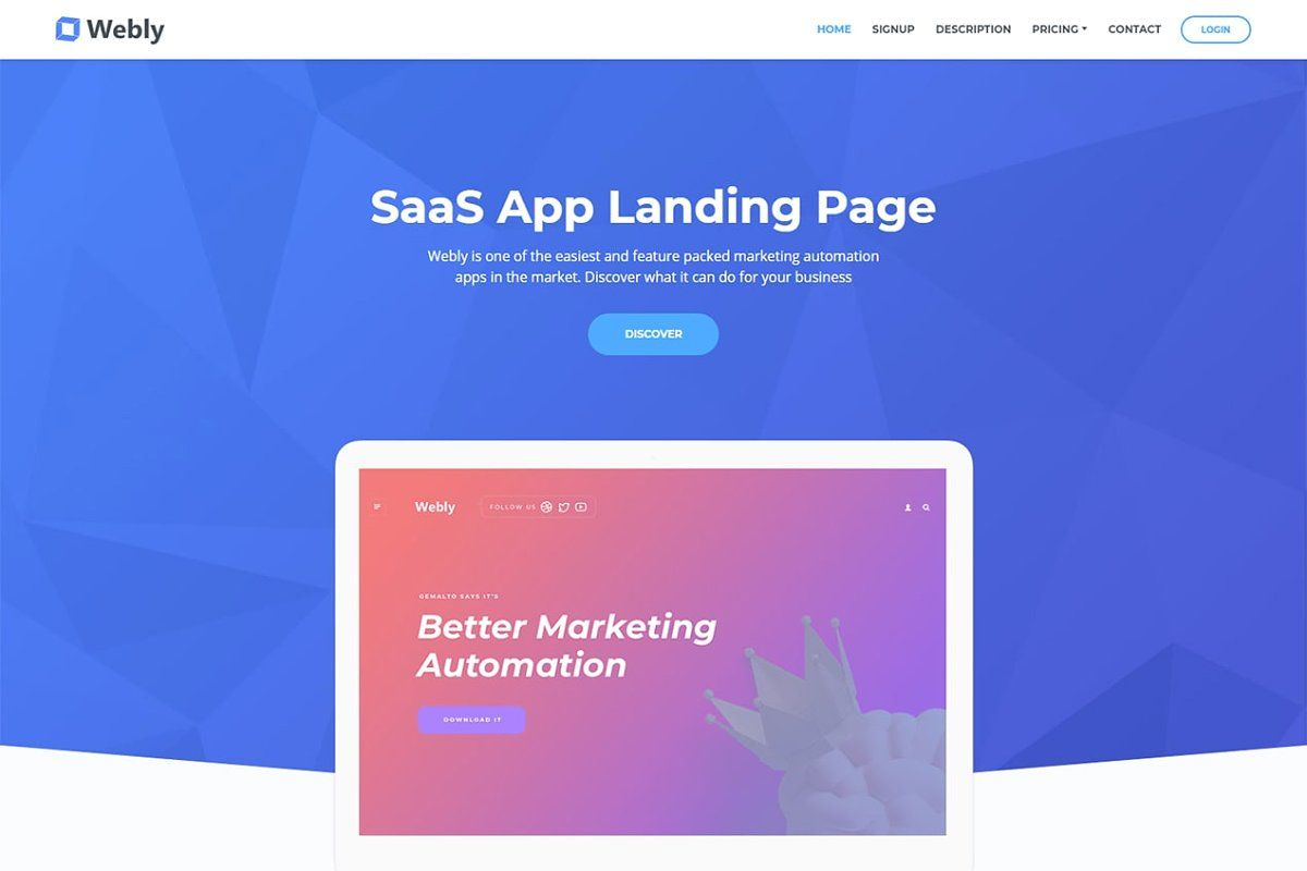 Viso - Recruiting Agency Landing Pag #Sponsored , #Ad, #landing#Bootstrap#template#page