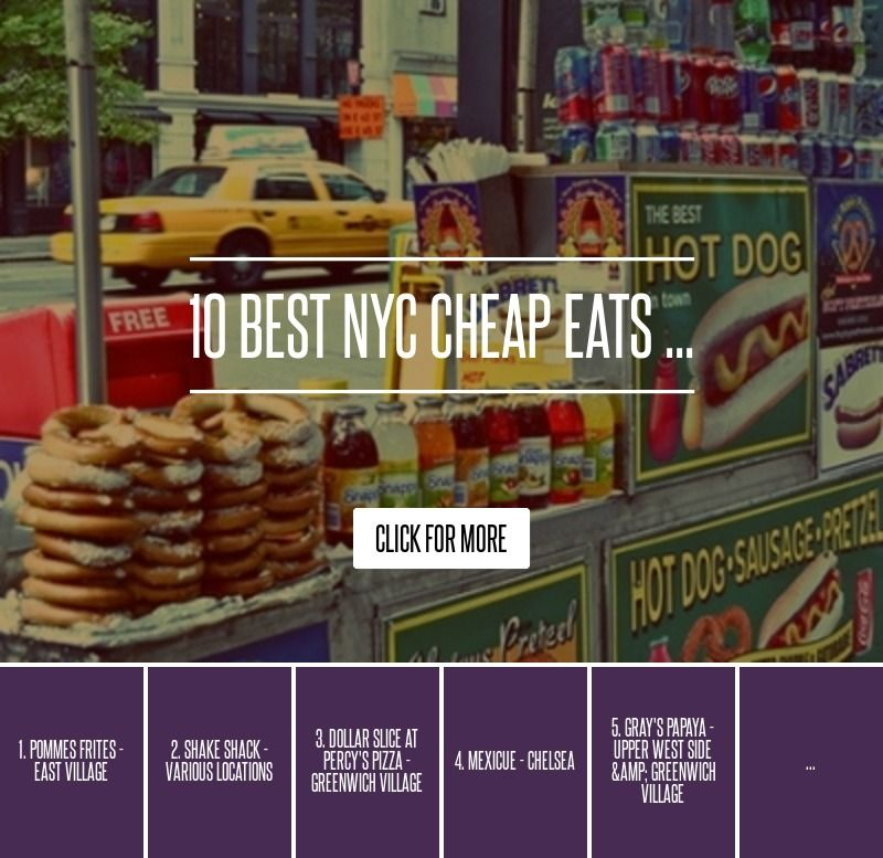 10. #Wafels & Dinges - #Moves Location - 10 Best NYC #Cheap Eats ... → #Travel [ more at http://travel.allwomenstalk.com ]  #Frites #Manhattan #Delicious #Cart #Food
