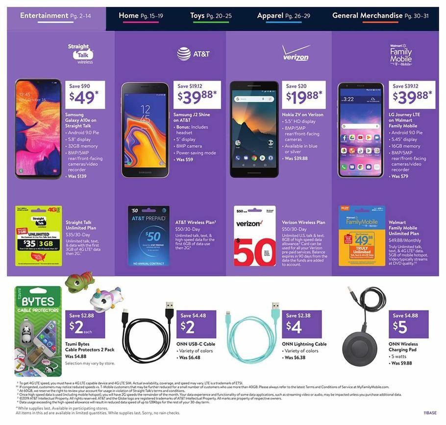 Walmart Black Friday Ad Scan Deals And Sales 2019 Walmart Black Friday Ad Black Friday Black Friday Ads