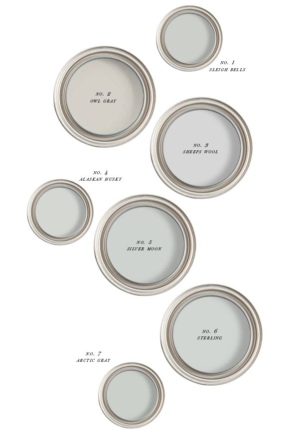 The best creamy gray paint earnest home co gray for Best gray paint colors