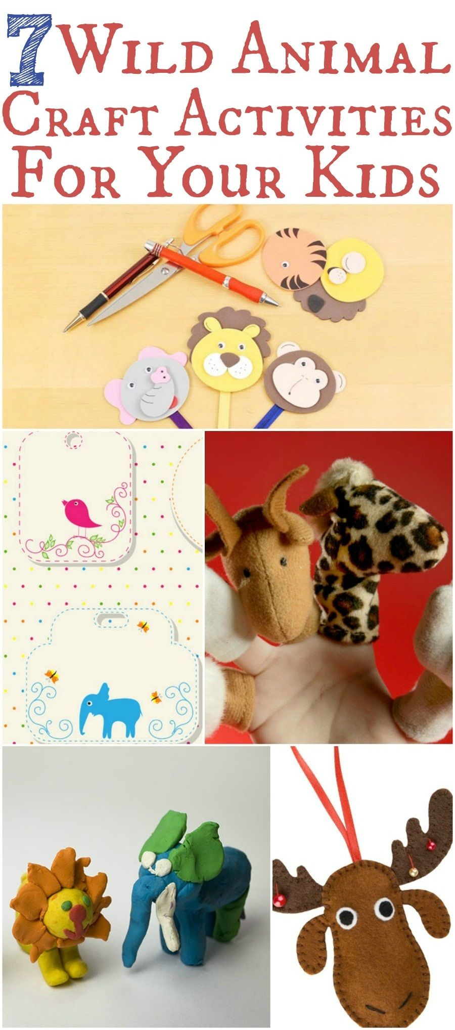 15 Easytomake Animal Crafts For Kids Animal crafts for