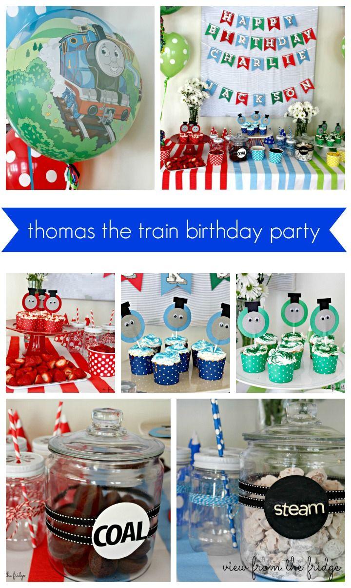 Thomas The Train Party Charlies 2nd Birthday Birthdays Birthday