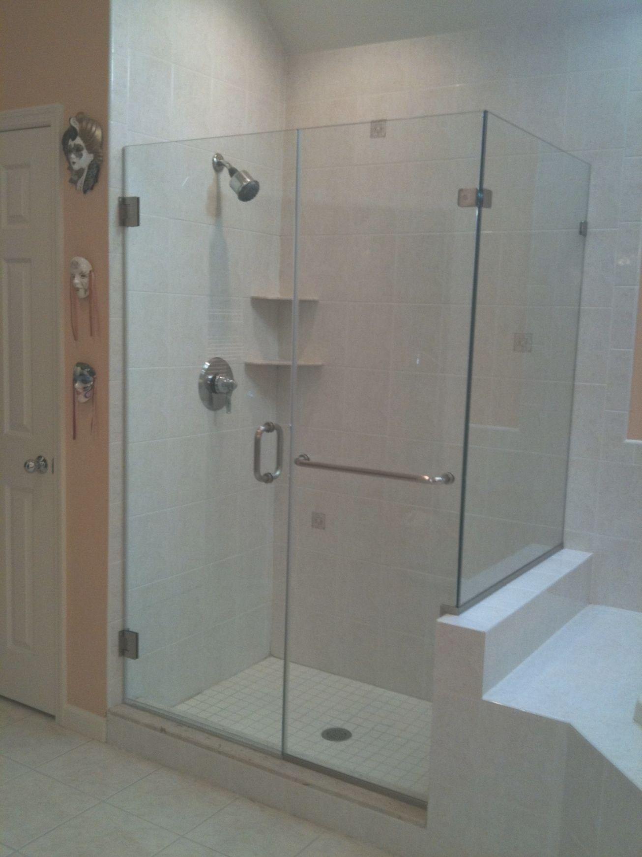 Cool Gl Shower Door Towel Bar