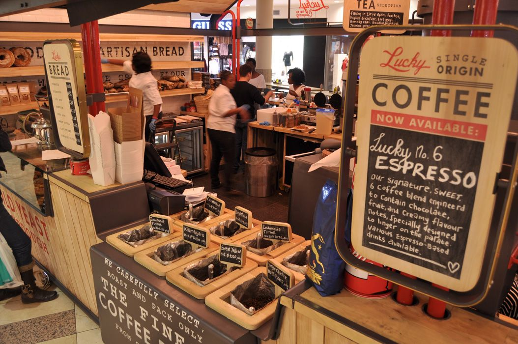 in essence the food coffee stall by the earthworld interior team is an