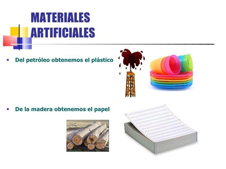 Resultado De Imagen Para Materiales Naturales Y Artificiales Materiales Naturales Y Artificiales Imagenes De Materiales Materiales Naturales