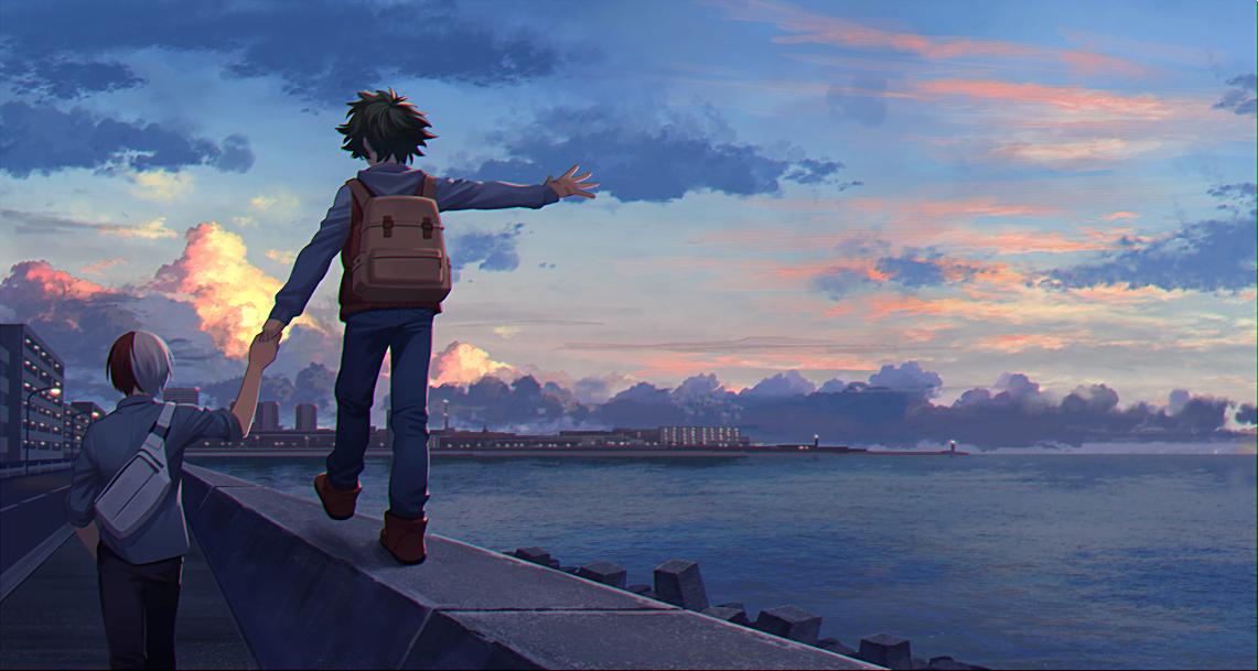 Hawks aesthetic wallpaper hero wallpaper anime wallpaper live. Pinterest   My hero academia manga, Hero, Anime scenery