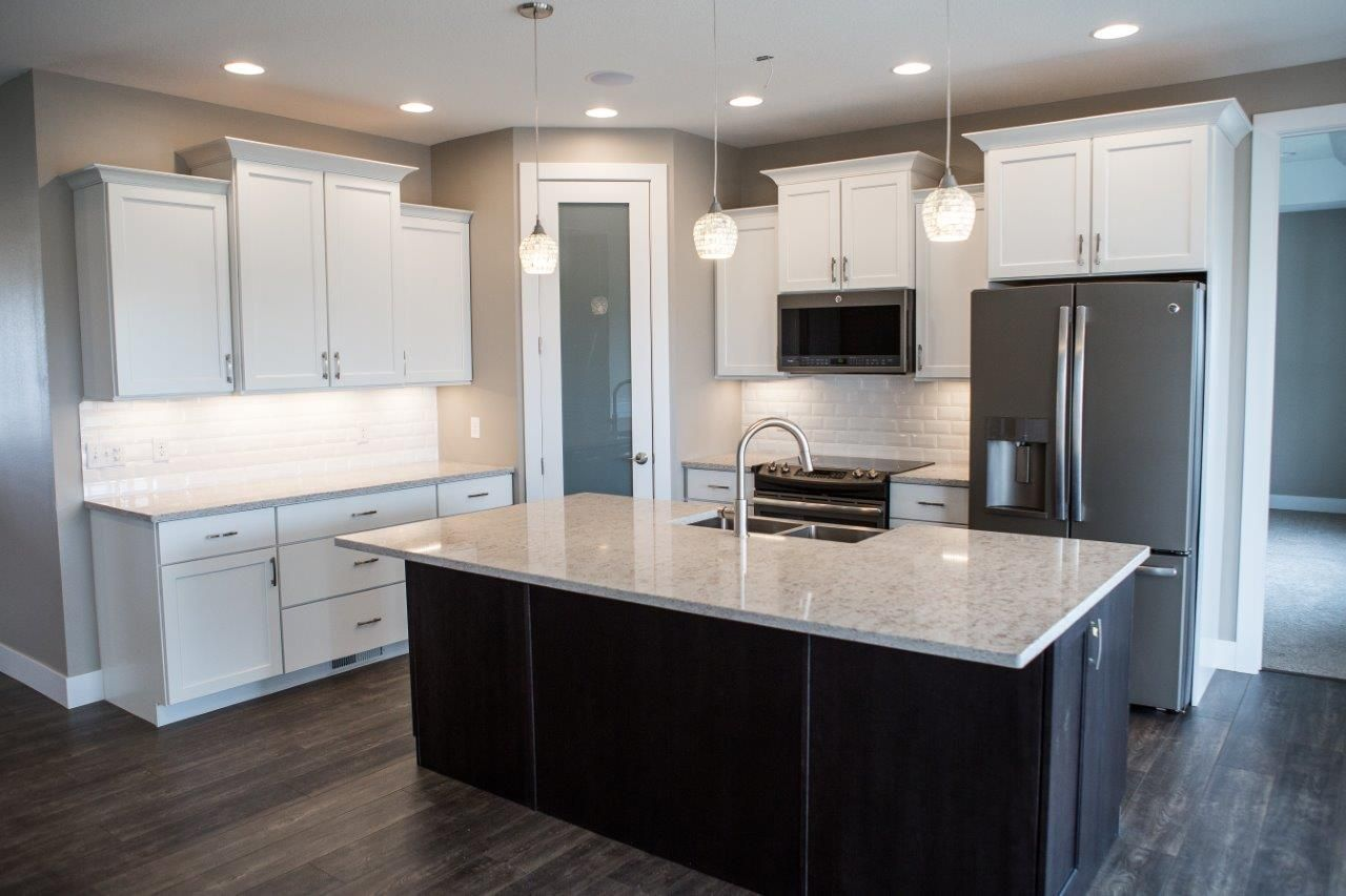 Peppercorn Oak Flooring Aspect White Cabinets And White