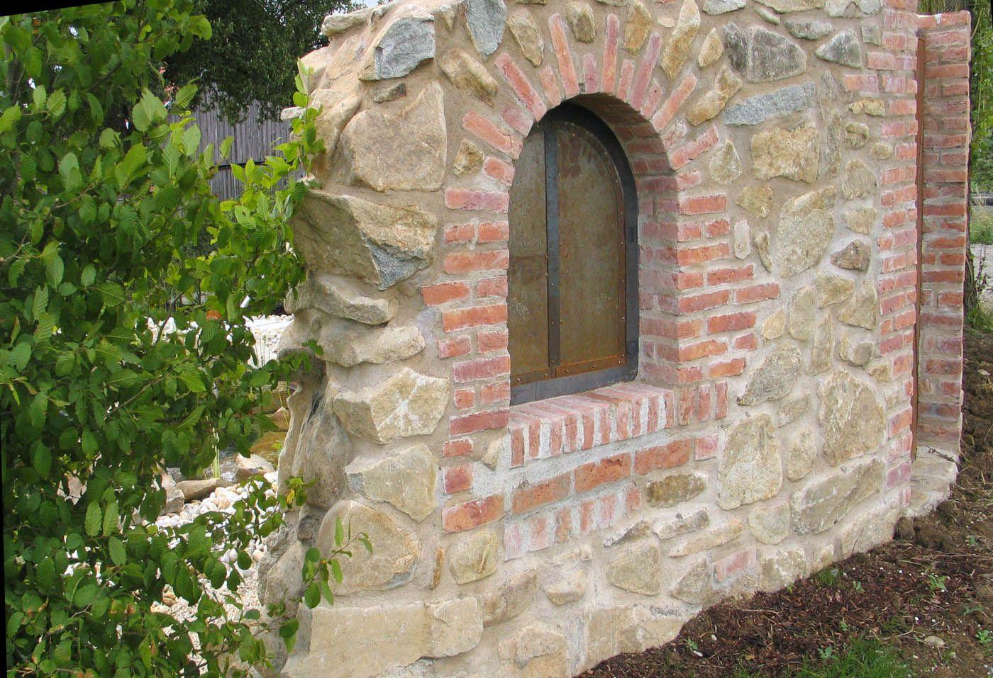 Mauer Trockenmauer Stein Gartengestaltung Gartenbau Reischl Bayerischer Wald Steinmauer Garten Gartenmauern