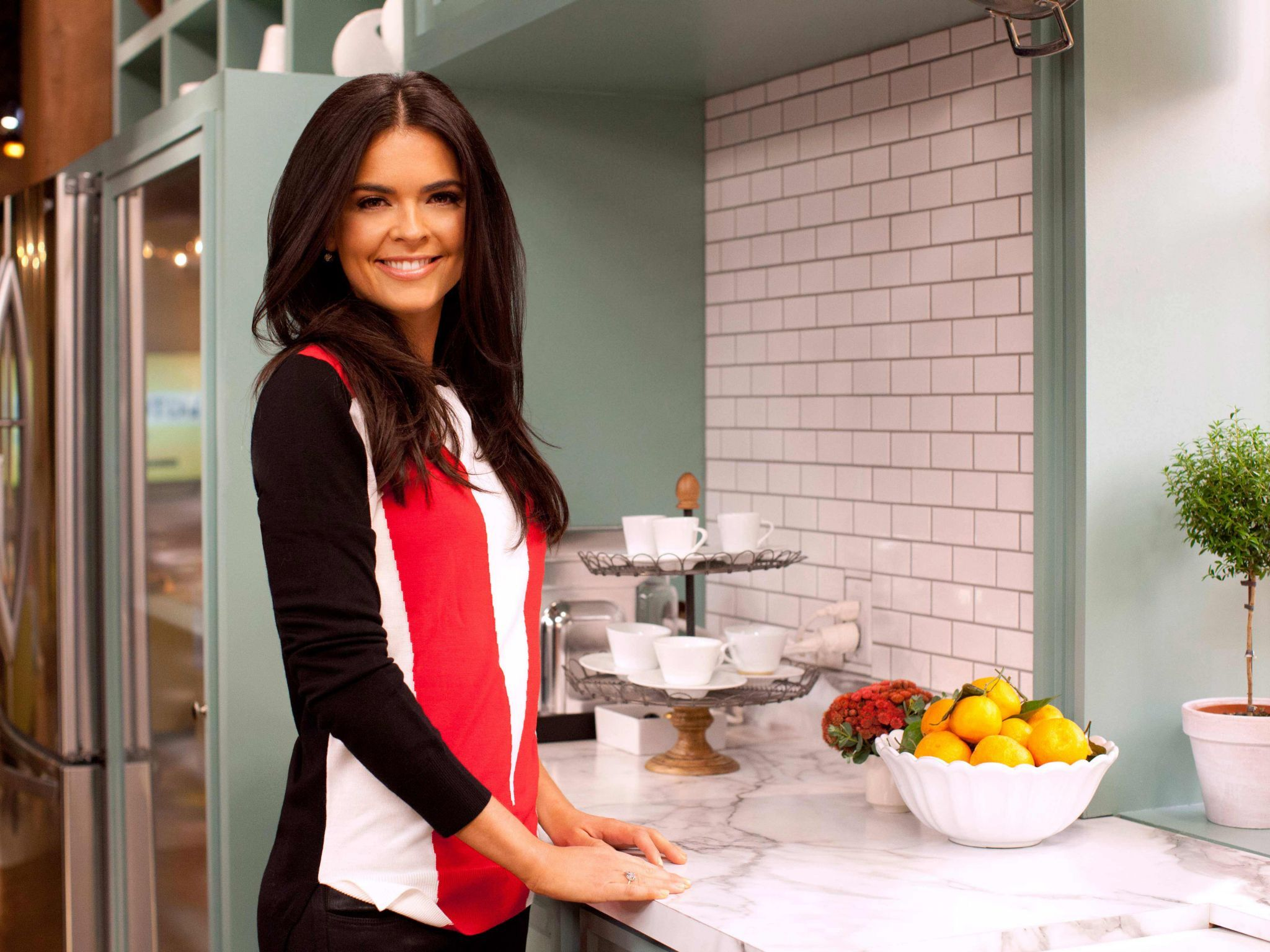 katie lee shares her talent for all things entertaining as a co host on the kitchen get katies recipes and watch highlights from the show on food network - The Kitchen Food Network Recipes