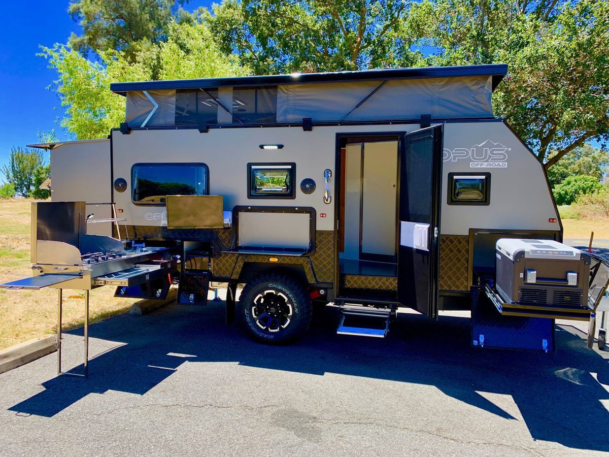 Go Anywhere Camper Trailer Pops Up For More Space Off Road