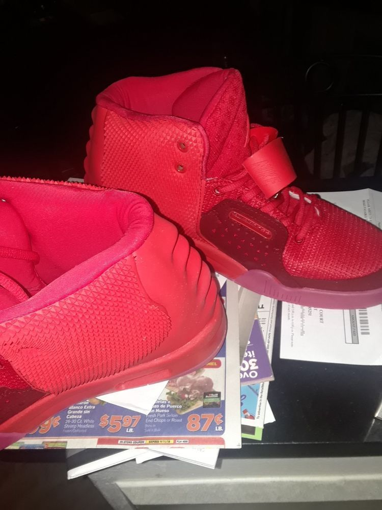fa5ebb62af149 Nike Air Yeezy 2 Red October Size 11  fashion  clothing  shoes  accessories   mensshoes  athleticshoes (ebay link)