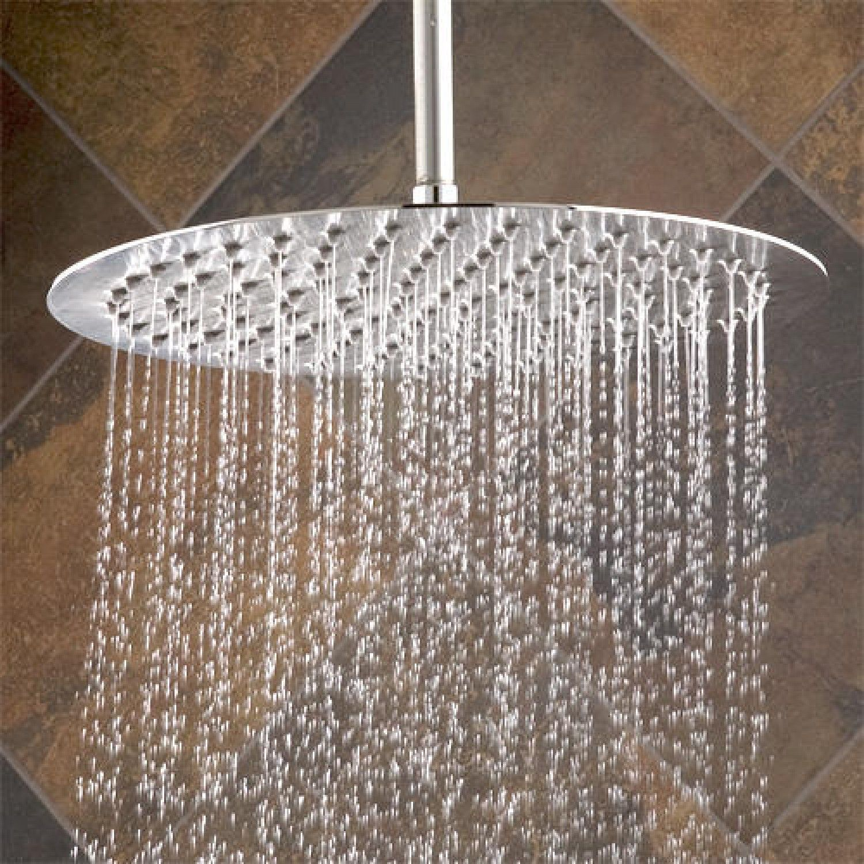 Ultra Thin Rain Shower Head Ceiling Mounted Shower Head Rain