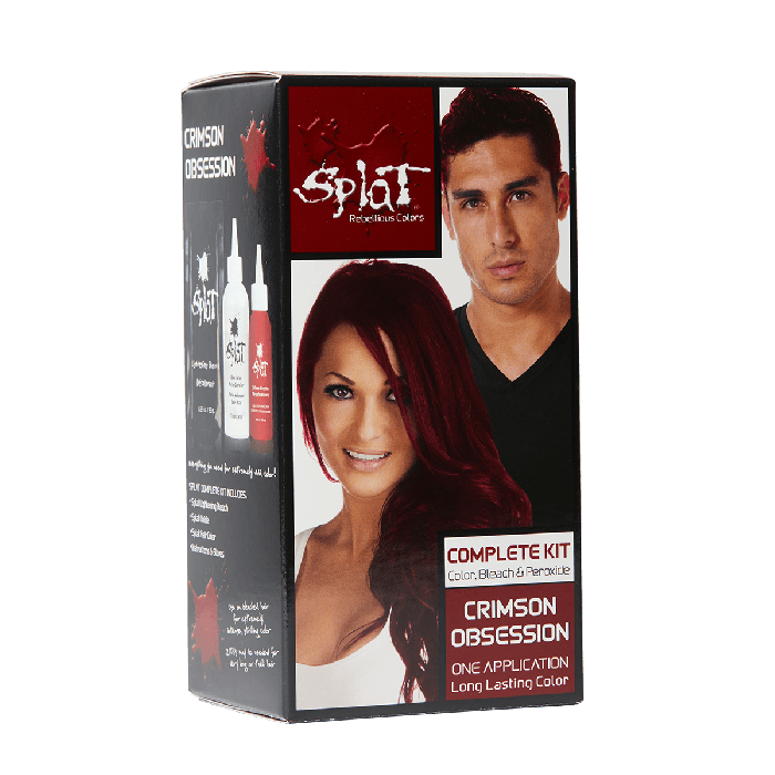 Vegan Cruelty Free Semi Permanent Hair Dye Kits Splat Hair Color Bold Hair Color Dyed Hair Splat Hair Dye