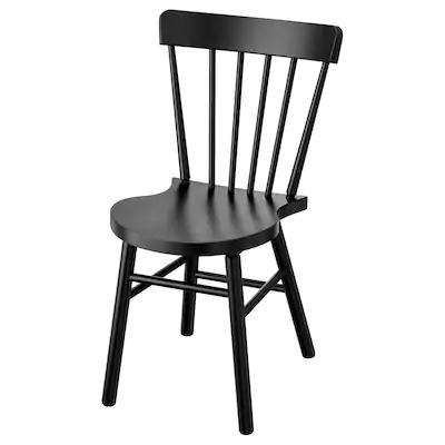 Norraryd Chaise Noir Ikea En 2020 Chaise De Salle A Manger Chaise Noire Idee Deco Rangement