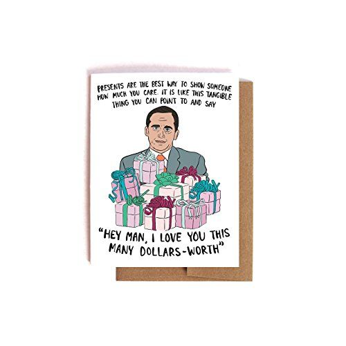 Michael Scott The Office Birthday Card With Images The Office