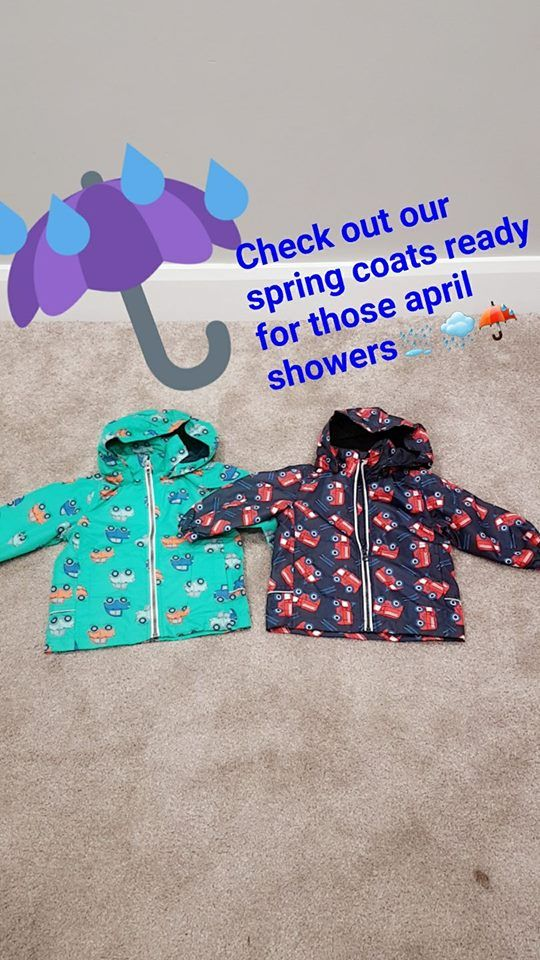We just love these spring coats <3 available online @ kookoochildren.com :)