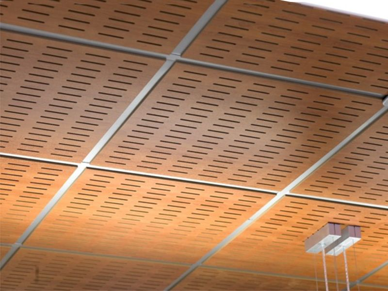 Amazing Acoustic Ceiling Tiles - Acoustic MDF Ceiling Tiles WOOD SHADE LAY-IN 24 By ITP DwD