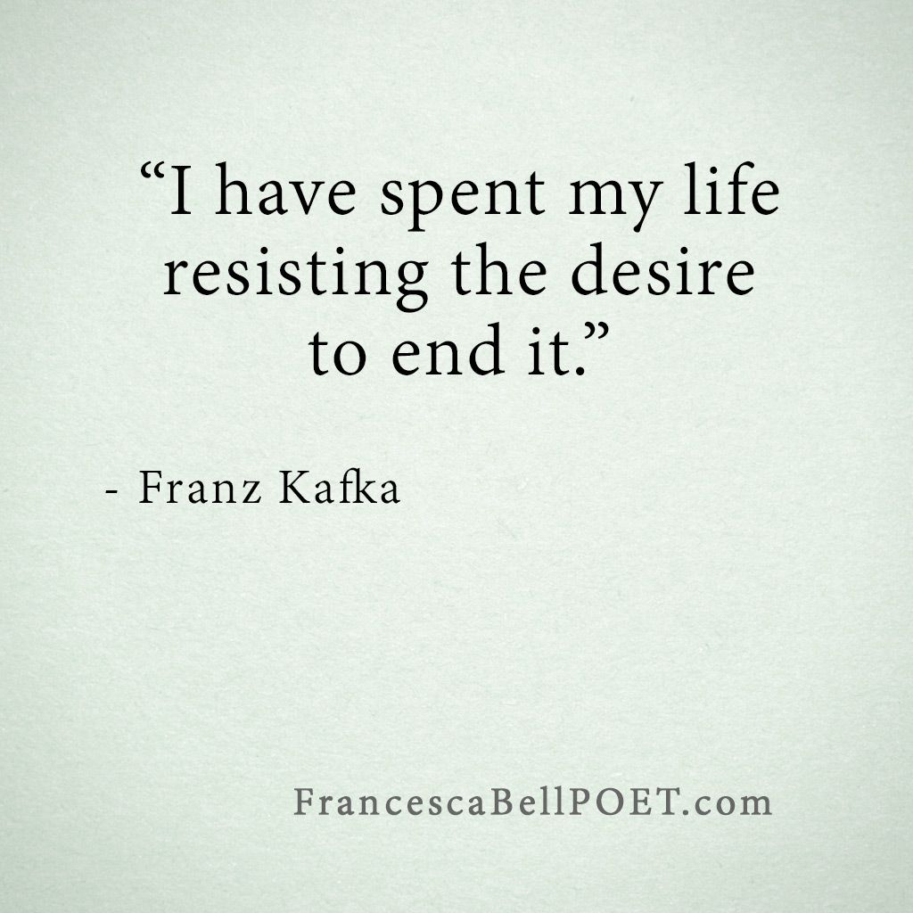 Franz Kafka Quote Life Quotes Charles Bukowski Other Beauts