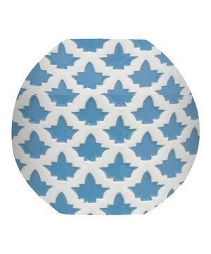 Blue & White Porcelain Vase by Three Hands Corporation #zulily #zulilyfinds