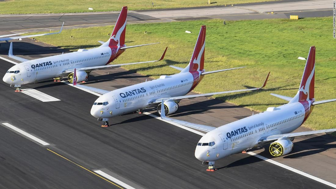 Australia's Qantas says international flights 'unlikely
